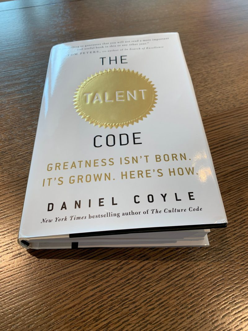 The Talent Code grow your Talent